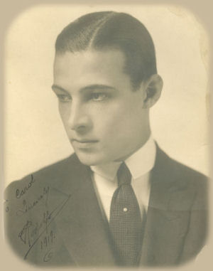 Autographed Portrait by Hoover Art Co. circa 1919
